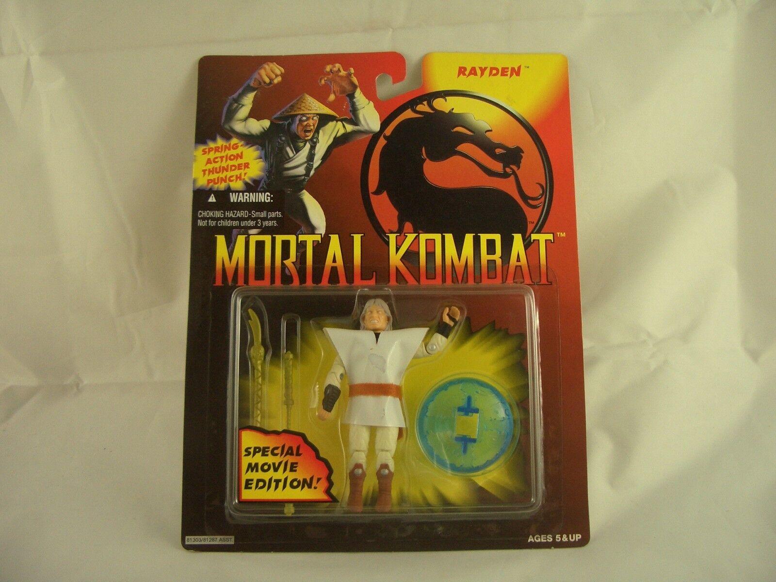 VINTAGE G.I. Joe MORTAL KOMBAT RAYDEN speciale edizione del film action figure