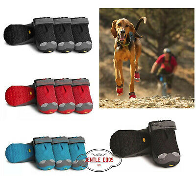 Ruffwear Gel/ände-Hunde-Schuhe Schwarz Miniatur Hunderassen Grip Trex
