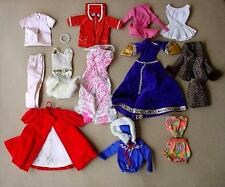 BARBIE DOLL MATTEL LABELED VINTAGE CLOTHING LOT,1960'S,GUINEVERE,SKI,TENNIS, +++