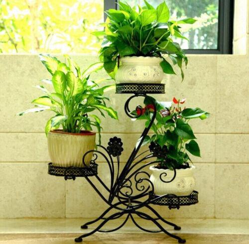 Blumenständer Blumentreppe Blumenregal Pflanzregal 69x65x22cm Garten//Terrasse