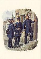 AK: Reichs-Postverwaltung, Landbriefträger, Briefträger, Packmeister, 1871 (1)