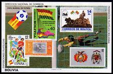 Bolivia bl. 120 **, fútbol WM 1982