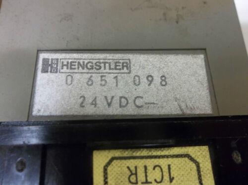 HENGSTLER 0 651 098  DIGITAL COUNTER 24 VDC 0651098