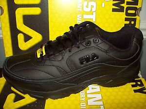 db96bbe0 Fila Women's Memory Workshift Slip-Resistant Sneaker #5ISGW0002-001 ...