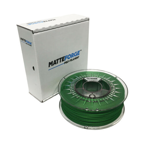 MATTEFORGE : Advanced Matte PLA 3D Printer Filament - 1.75mm GREEN (1KG)