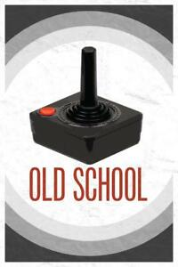 Old-School-Throwback-Retro-Video-Game-Controller-II-inch-Poster-24x36-inch