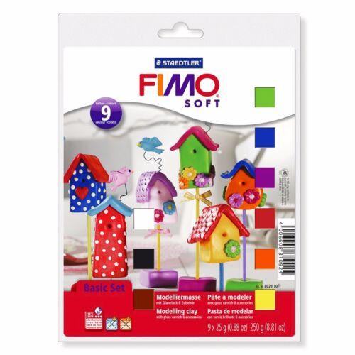 Staedtler Fimo Soft Starter Set Pack of 10-8023 10
