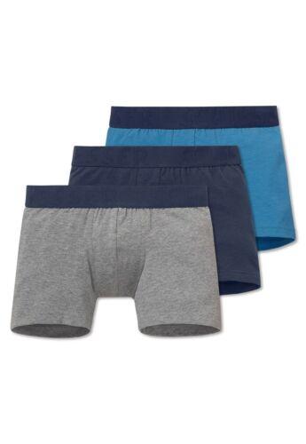 Schiesser Set di tre Pack Mutande Pantaloncini Ragazzo Nuovo