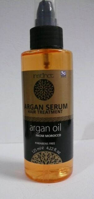 MOROCCAN ARGAN OIL = - all Hair Types - 125ml Pure Natural SHINE LONG-LASTING