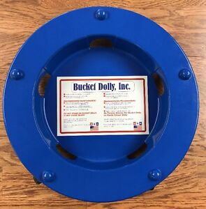 Bucket Dolly for Flooring Installers and Contractors