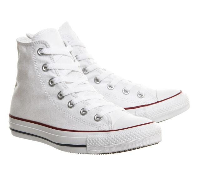 024e4fe3315 Converse Junior White Chuck Taylor Hi Trainers Size 1 - 13 UK 2 for ...