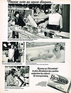 Publicite 1970 Rexona Savon Breweriana, Beer Collectibles