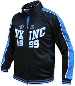 RDX Mens Zip Up Jumper Sweatshirt Top Training Jacket Pullover Hoodie Gym Coat B
