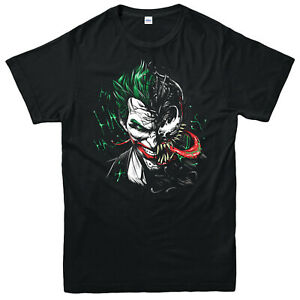 Joker-and-Venom-Spoof-Supervillians-Marvel-Comics-T-Shirt-Adult-amp-Kids-Tee-Top