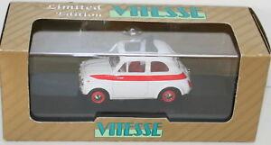 VITESSE-1-43-L082A-FIAT-500-SPORT-ROAD-VERSION-1960-WHT