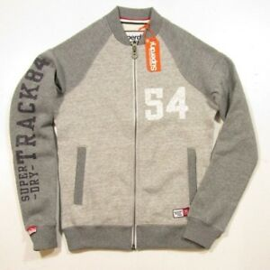 Superdry Men/'s Grey Colorblock Bomber Jacket