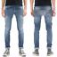 Nudie-Herren-Slim-Fit-Stretch-Jeans-Hose-Grim-Tim-Orange-Cloud-W29-L34 Indexbild 1