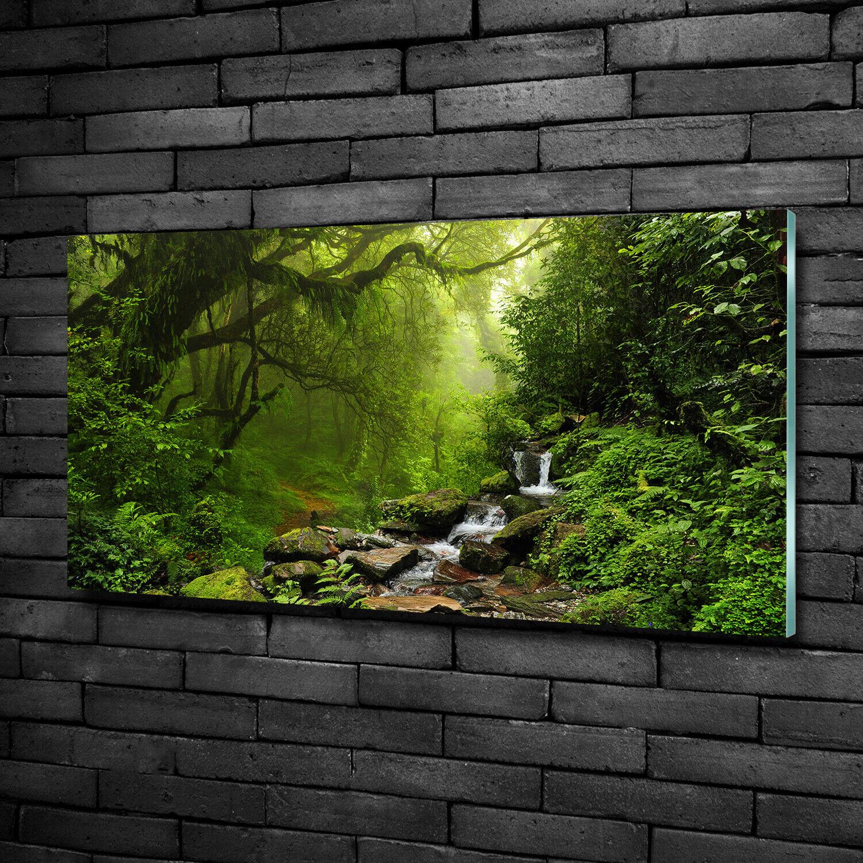 Wandbild Druck auf Plexiglas® Acryl Hochformat 50x100 Gehackte Früchte