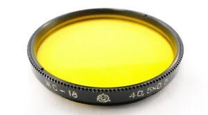 Russian-Yellow-Y-18-Lens-Filter-40-5mm-Jupiter-3-8-8m-11-12-Industar-61-L-D-69