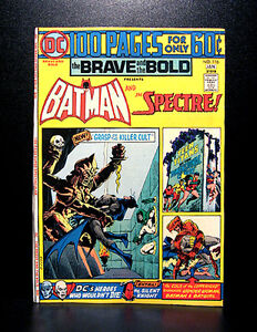 COMICS-DC-Brave-and-the-Bold-116-1975-100-pages-giant-Batman-Spectre