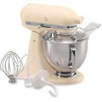 Kitchenaid Almond Cream Artisan 5-quart Tilt-head Stand Mixer Ksm150psac