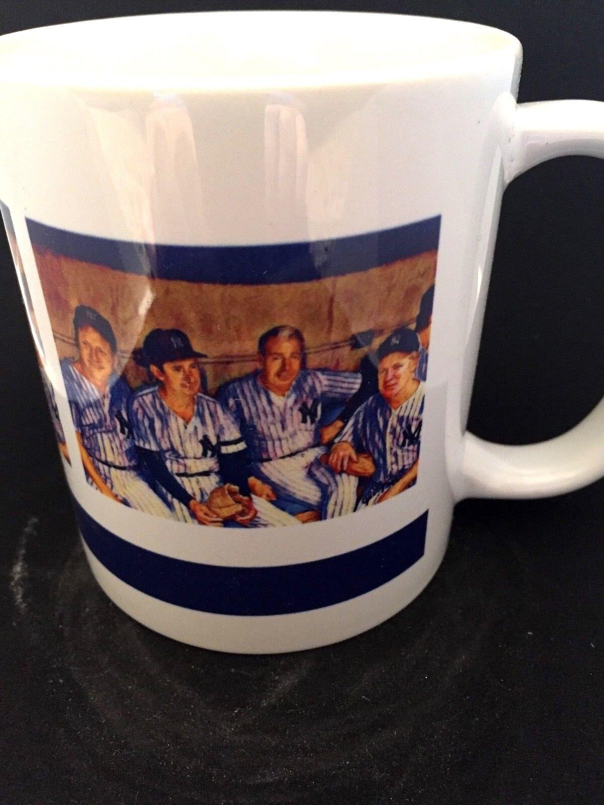 New York Yankees Yankees Yankees Mantle, Dimaggio, Martin & Ford Kaffee Mug-Bonus Pin Enthalten a22c9d