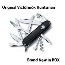 1.3713.3 Victorinox Swiss Pocket Knife Huntsman BLACK 15 TOOLS AH 53203