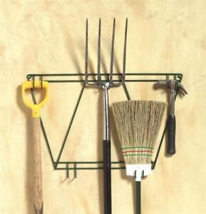 Tool-Hanging-Rack-Garden-Tools-Holder-Organiser-Wall-Mount-Hook-Metal-Storage