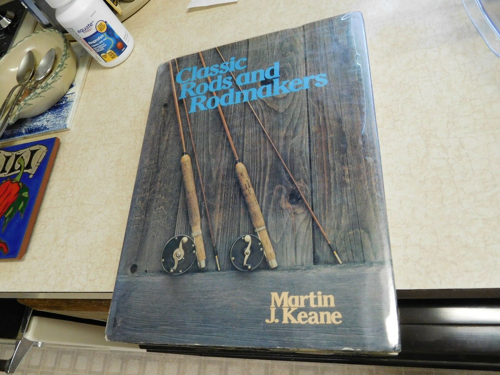 Classic Rods and Rodmakers, by Martin J. Keane, 1st. ed. Book, 1976