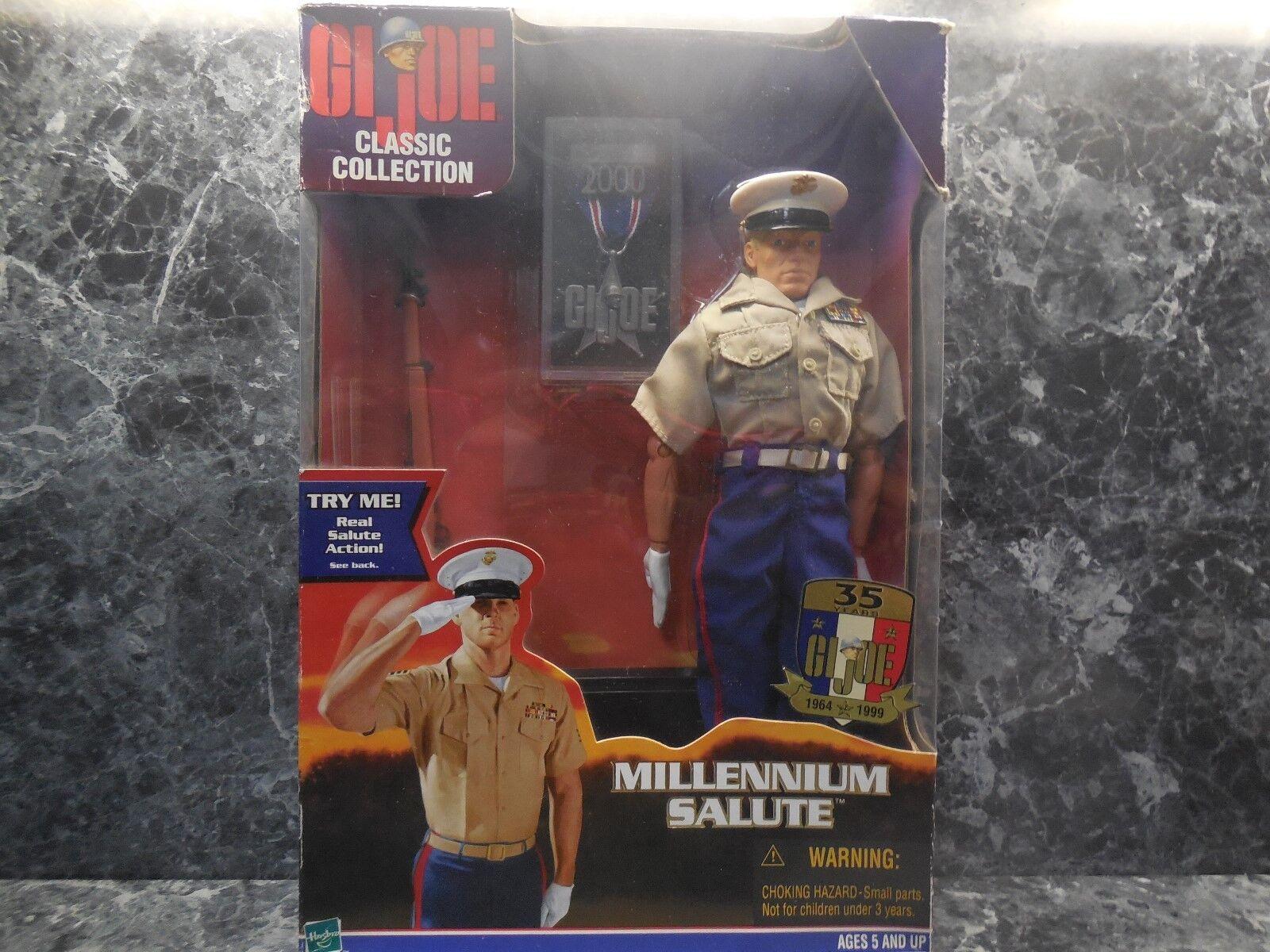 1999 g.i.joe marine millennium salute new