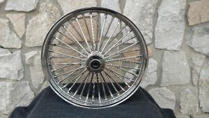 """16x3.5"""" Dna Fat Spoke Mammoth Rear Wheel For Harley Softail Heritage Deluxe 08 U Peut êTre à Plusieurs Reprises Replié."""