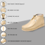 thumbnail 76 - LibertyZeno Men's Genuine Leather High Top Moc Toe Desert Chukka Casual Shoes-HJ