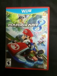 Details About Replacement Case Box No Game Mario Kart 8 Nintendo Wii U