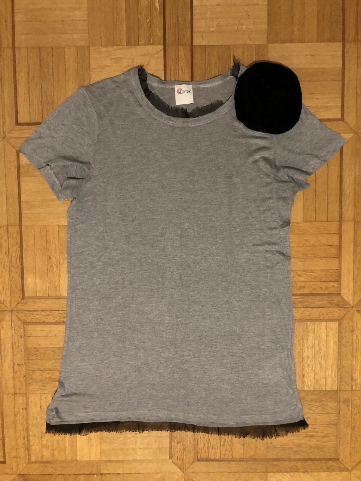 Top T-shirt Haut rot VALENTINO Größe M
