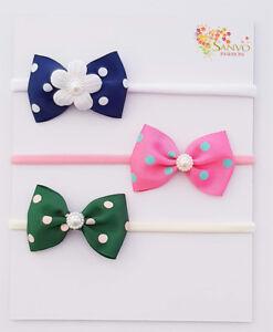 Headband-Baby-Girl-Newborn-Toddler-Nylon-Hair-Band-JoJo-Emma-Wiggle-Bow-Bands