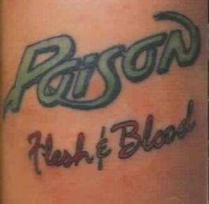 POISON - FLESH & BLOOD [BONUS TRACKS] NEW CD