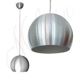 pendelleuchte 20cm chrom silber pendellampe h ngelampe deckenlampe kugel rund ebay. Black Bedroom Furniture Sets. Home Design Ideas