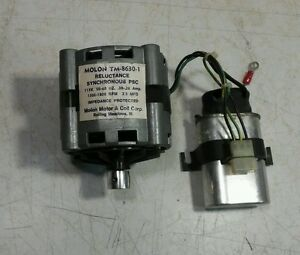 molon motor coil corp tm 8630 1 with capacitor 115v 1500