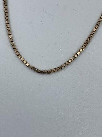 Andet smykke, 8 karats guldkæde