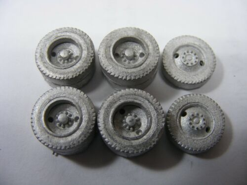 2-Hole Budd Tire//Wheel Set 1//87 Scale  By Don Mills Models