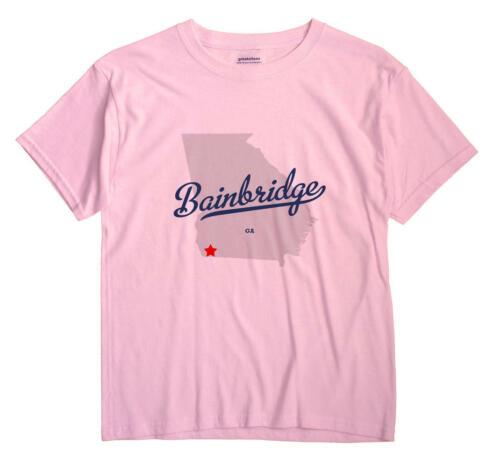 Bainbridge Georgia GA T-Shirt MAP