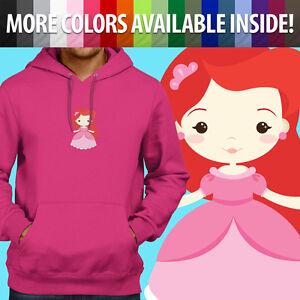 Unisex-Pullover-Sweatshirt-Hoodie-Sweater-Little-Mermaid-Princess-Ariel-Cartoon