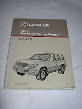 1998 Lexus LX470 LX 470 electrical wiring service manual shop repair rare