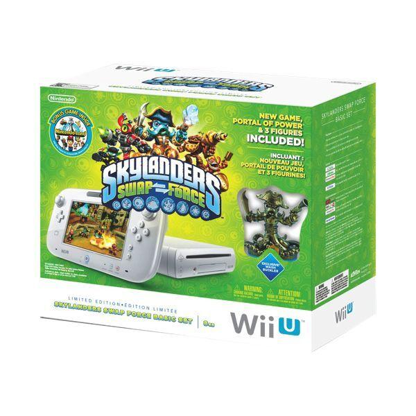 Nintendo Wii U - Skylanders SWAP Force Starter Pack Limited Edition Bundle