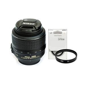 Nikon-AF-S-DX-Nikkor-18-55mm-f-3-5-5-6G-VR-Lens-NEW-Bulk-Package-UV