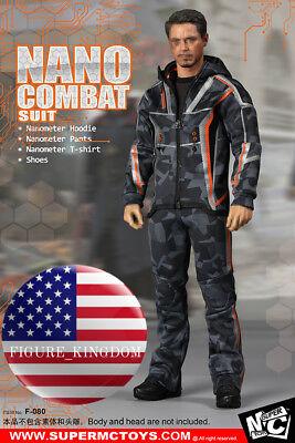 1//6 SCALE Nano Combat Jacket Set F-080  Iron Man Infinity Tony Stark BACK ORDER