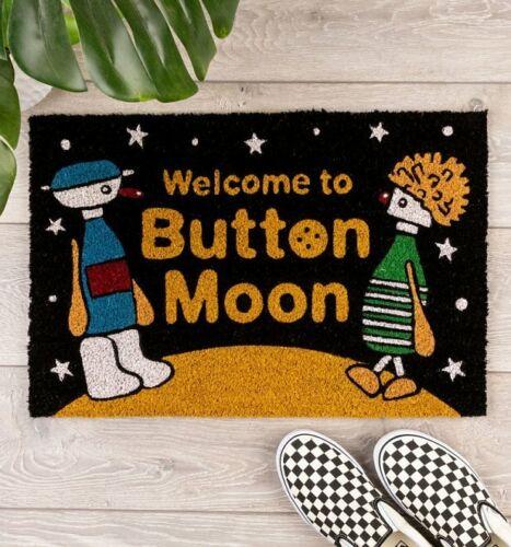 Official Welcome To Button Moon Door Mat