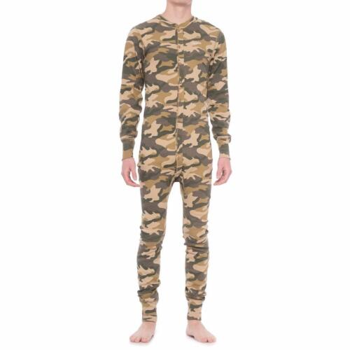 Carhartt Midweight Union Suit One Piece Base Layer Long Underwear K226 Camo Hunt