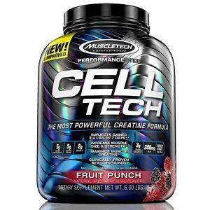 MuscleTech-CELL-TECH-Performance-Creatine-6-lbs-56-Servings-PICK-FLAVOR