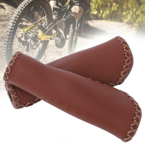 1 Pair Bike Handlebar Covers Anti-slip Wear-proof Bicycle Handle Grips Sleeves